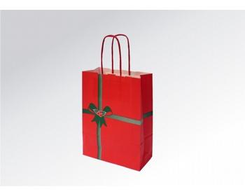 Náhled produktu Vánoční papírová taška NATALE - 18 x 25 x 8 cm