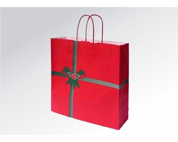 Náhled produktu Vánoční papírová taška NATALE - 36 x 41 x 12 cm