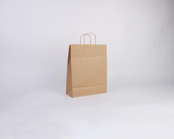 Náhled produktu Papírová taška NATURA TWIST - 26 x 34 x 12 cm - hnědá