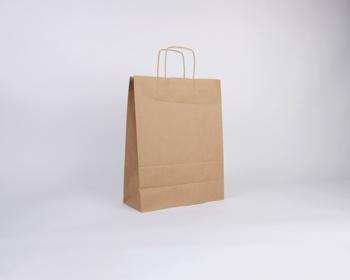 Náhled produktu Papírová taška NATURA TWIST - 32 x 42 x 14 cm - hnědá