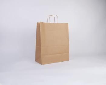 Náhled produktu Papírová taška NATURA TWIST - 35 x 44 x 18 cm - hnědá