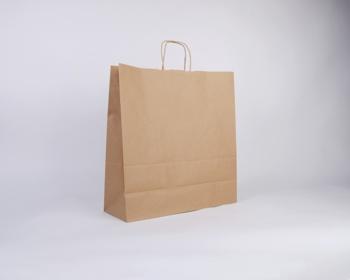 Náhled produktu Papírová taška NATURA TWIST - 45 x 48 x 17 cm - hnědá
