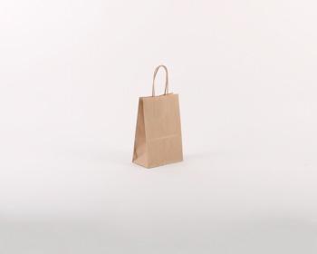 Náhled produktu Papírová taška NATURA S - 14 x 21 x 8 cm - hnědá