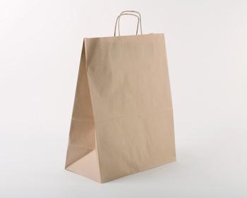 Náhled produktu Papírová taška NATURA S - 35 x 44 x 18 cm - hnědá