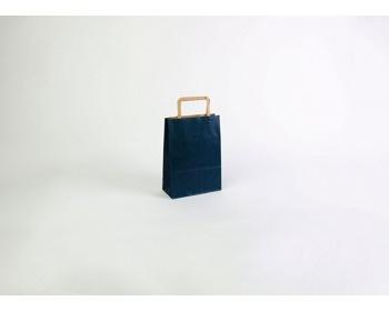 Náhled produktu Papírová taška RAINBOW BLUE - 18 x 25 x 8 cm