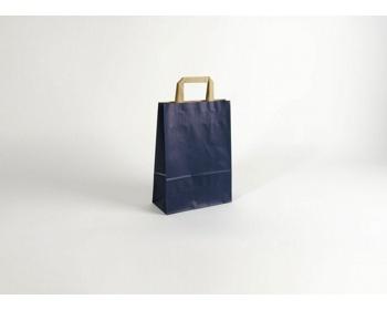 Náhled produktu Papírová taška RAINBOW BLUE - 23 x 32 x 10 cm