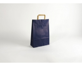 Náhled produktu Papírová taška RAINBOW BLUE - 26 x 38 x 11 cm