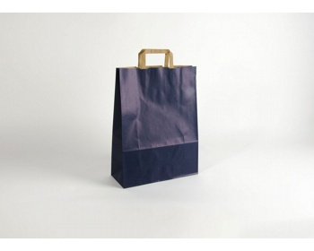 Náhled produktu Papírová taška RAINBOW BLUE - 32 x 42,5 x 13 cm
