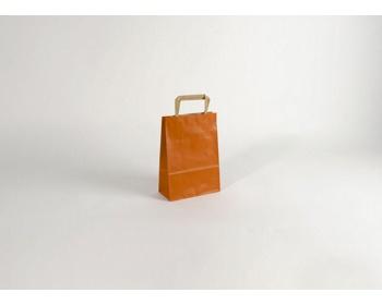 Náhled produktu Papírová taška RAINBOW ORANGE - 18 x 25 x 8 cm