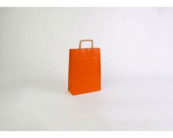 Náhled produktu Papírová taška RAINBOW ORANGE - 23 x 32 x 10 cm