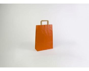 Náhled produktu Papírová taška RAINBOW ORANGE - 26 x 38 x 11 cm