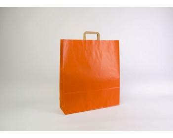 Náhled produktu Papírová taška RAINBOW ORANGE - 44 x 50 x 14 cm