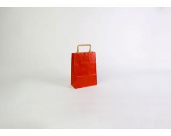 Náhled produktu Papírová taška RAINBOW RED - 18 x 25 x 8 cm