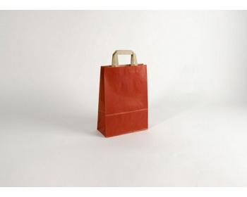 Náhled produktu Papírová taška RAINBOW RED - 23 x 32 x 10 cm