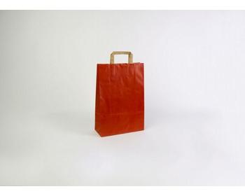 Náhled produktu Papírová taška RAINBOW RED - 26 x 38 x 11 cm