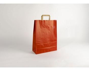 Náhled produktu Papírová taška RAINBOW RED - 32 x 42,5 x 13 cm
