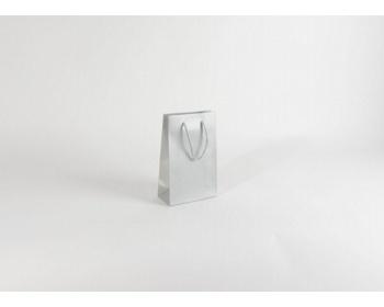 Náhled produktu Papírová taška SILVER - 16 x 25 x 8 cm