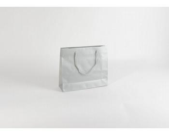 Náhled produktu Papírová taška SILVER - 32 x 27,5 x 10 cm