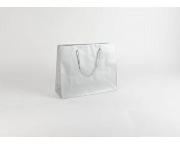 Náhled produktu Papírová taška SILVER - 38 x 31 x 13 cm