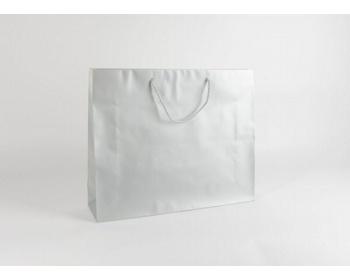Náhled produktu Papírová taška SILVER - 54 x 44,5 x 14 cm