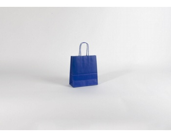 Náhled produktu Papírová taška SPEKTRUM BLUE - 18 x 25 x 8 cm - modrá