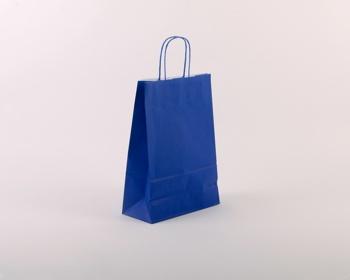 Náhled produktu Papírová taška SPEKTRUM BLUE - 23 x 32 x 10 cm - modrá