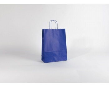 Náhled produktu Papírová taška SPEKTRUM BLUE - 26 x 34,5 x 11 cm