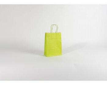 Náhled produktu Papírová taška SPEKTRUM GREEN - 18 x 25 x 8 cm