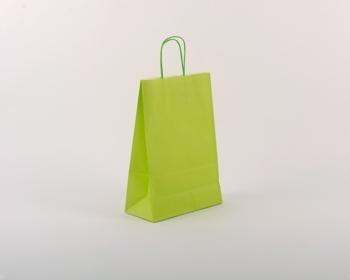 Náhled produktu Papírová taška SPEKTRUM GREEN - 23 x 32 x 10 cm - zelená