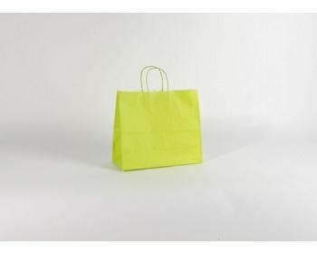 Náhled produktu Papírová taška SPEKTRUM GREEN - 32 x 28 x 13 cm