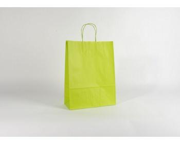 Náhled produktu Papírová taška SPEKTRUM GREEN - 32 x 42 x 13 cm
