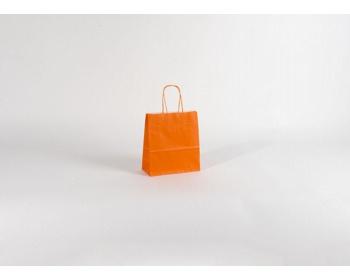 Náhled produktu Papírová taška SPEKTRUM ORANGE - 18 x 20 x 8 cm