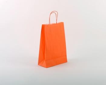 Náhled produktu Papírová taška SPEKTRUM ORANGE - 23 x 32 x 10 cm - oranžová