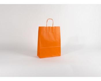 Náhled produktu Papírová taška SPEKTRUM ORANGE - 26 x 34,5 x 11 cm