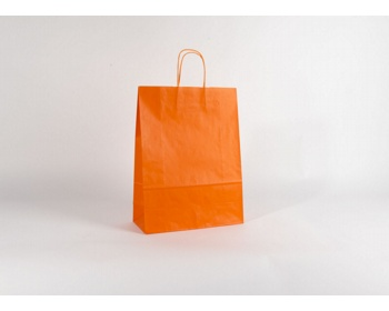 Náhled produktu Papírová taška SPEKTRUM ORANGE - 32 x 42 x 13 cm