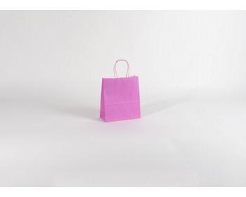 Náhled produktu Papírová taška SPEKTRUM PINK - 18 x 20 x 8 cm