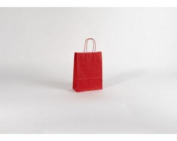 Náhled produktu Papírová taška SPEKTRUM RED - 18 x 25 x 8 cm