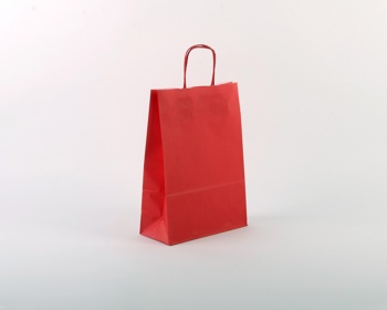 Náhled produktu Papírová taška SPEKTRUM RED - 23 x 32 x 10 cm - červená
