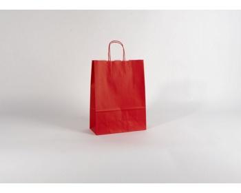 Náhled produktu Papírová taška SPEKTRUM RED - 26 x 34,5 x 11 cm
