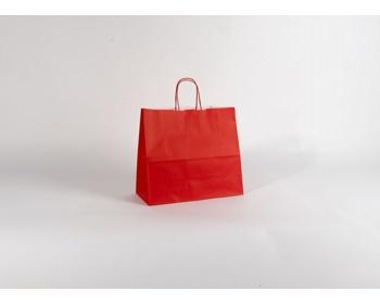 Náhled produktu Papírová taška SPEKTRUM RED - 32 x 28 x 13 cm