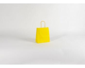 Náhled produktu Papírová taška SPEKTRUM YELLOW - 18 x 25 x 8 cm