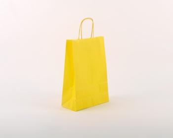 Náhled produktu Papírová taška SPEKTRUM YELLOW - 23 x 32 x 10 cm - žlutá
