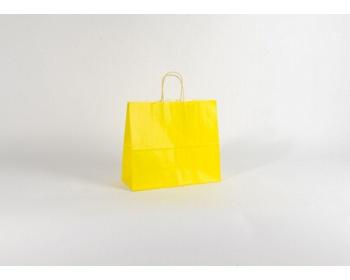 Náhled produktu Papírová taška SPEKTRUM YELLOW - 32 x 28 x 13 cm