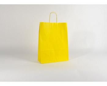 Náhled produktu Papírová taška SPEKTRUM YELLOW - 32 x 42 x 13 cm