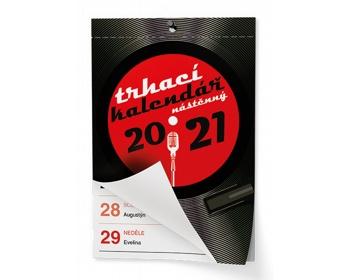 Náhled produktu Nástěnný kalendář Trhací kalendář I. 2021