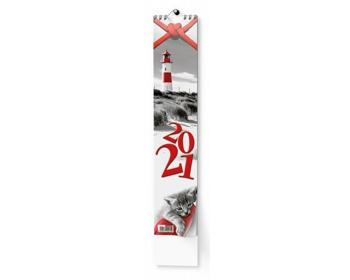 Náhled produktu Nástěnný kalendář Kravata 2021 - Žánrový