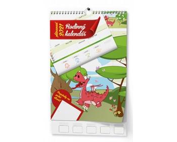 Náhled produktu Nástěnný kalendář Rodinný 2020