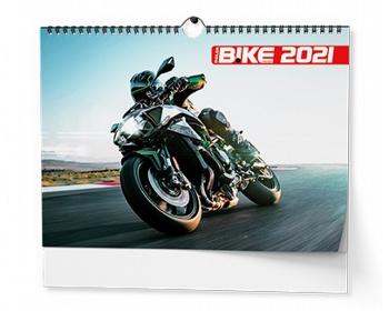 Náhled produktu Nástěnný kalendář Motorbike 2021