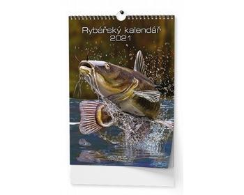 Náhled produktu Nástěnný kalendář Rybářský kalendář 2021