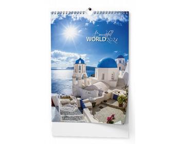 Náhled produktu Nástěnný kalendář Beautiful world 2021